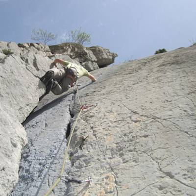 Rock Climbing in Corbiere