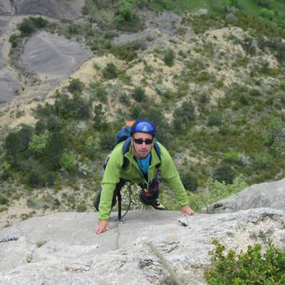 Rock Climbing in Orpierre in the Alps