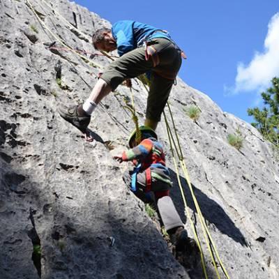 Rock Climbing with little kids