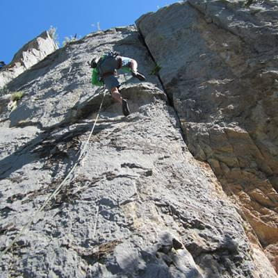 Rock Climbing in the Alps