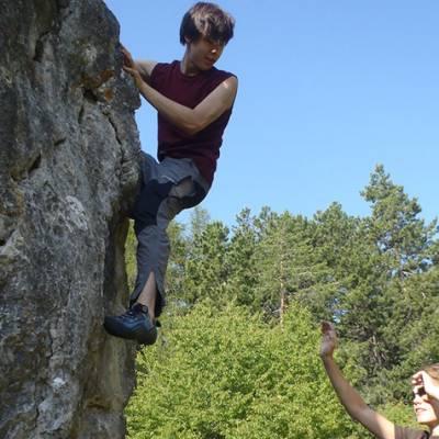 Rock Climbing Course bouldering