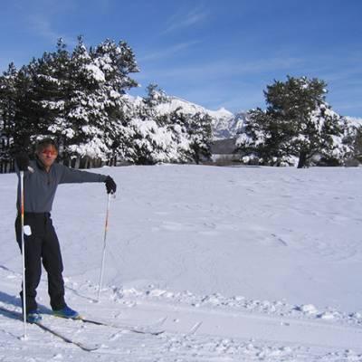 Cross Country Skiing at Col Bayard