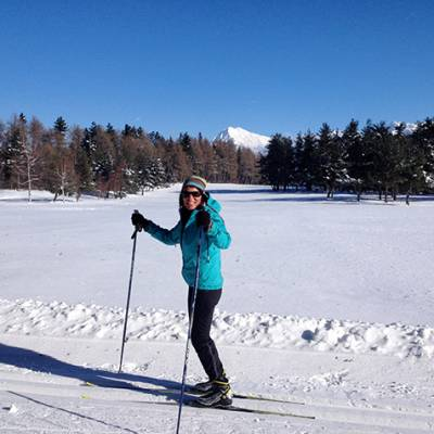 Cross Country skiing Sally