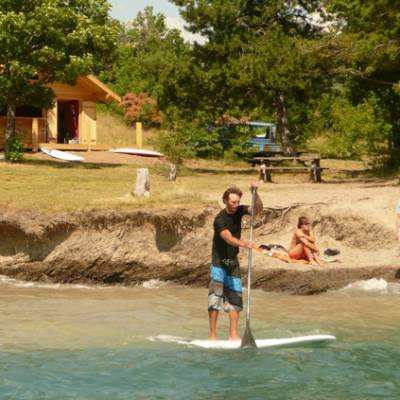 Stand Up Paddle Beach chalet serre poncon