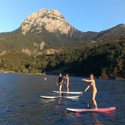 Stand Up Paddle in the Alps