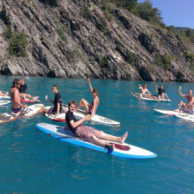 Stand Up Paddle lesson Serre Poncon