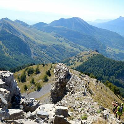 TRail running in the alps in france