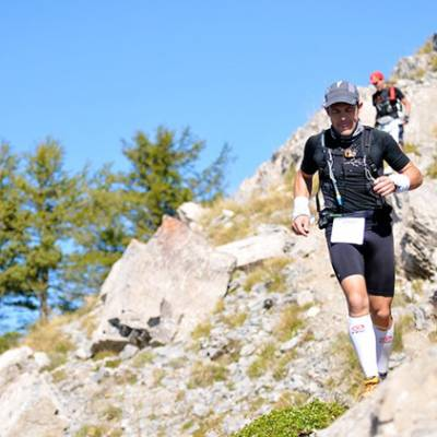 TRail Running in the Southern French Alps in Franc