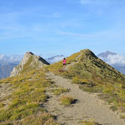 TRail Running the Pic de Gleize