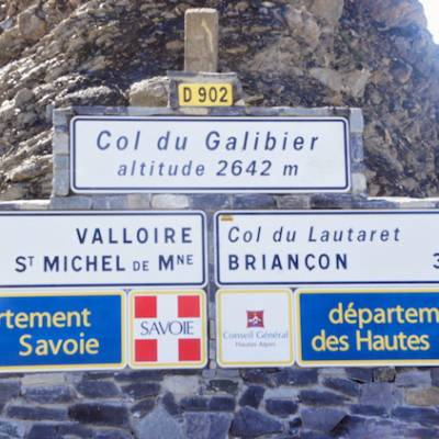 Road Cycling in the Alps with Undiscovered Alps col galibier