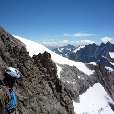 Mountaineering le Rateau Ecrins