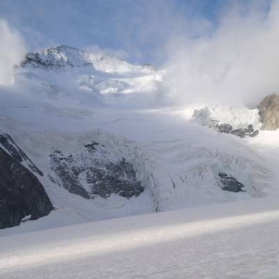 Mountaineering the barre des ecrins