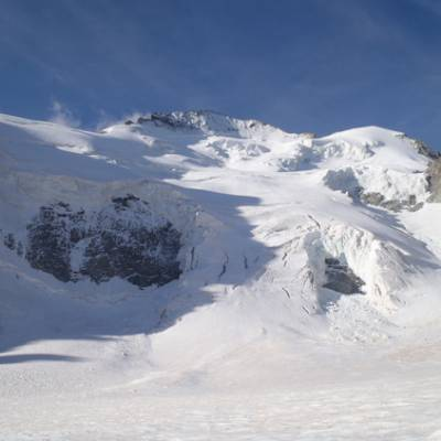 Mountaineering glacier Ecrins