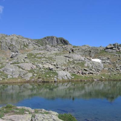 Refuge des Souffles - walk to lake