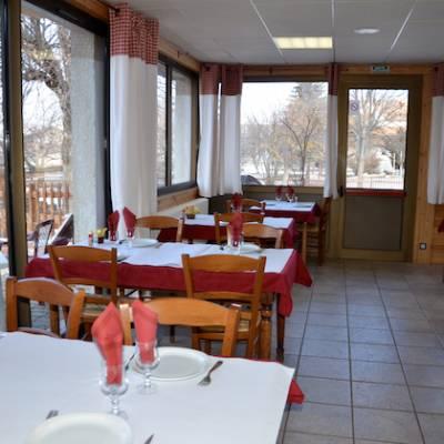 Chamois Hotel restaurant