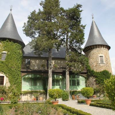 Chateau Picomtal in the Southern French Alps