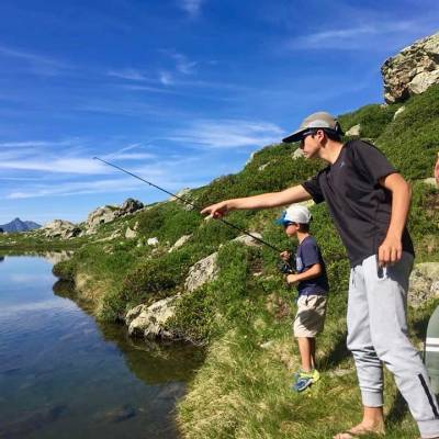 fly fishing en famille Southern French Alps.jpg