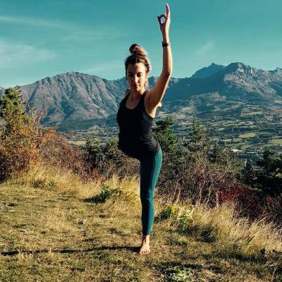 Yoga in the mountains of the Southern French Alps.JPG