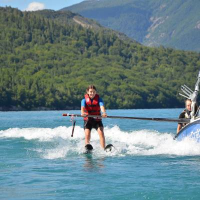 waterskiing and tubing on the serre poncon lake in the alps (13 of 36).jpg