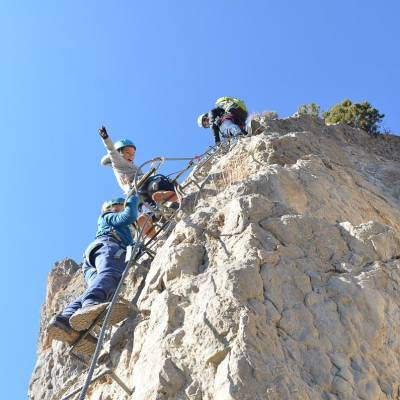 via ferrata in autumn in the undiscovered mountains in th Alps (12 of 27).jpg