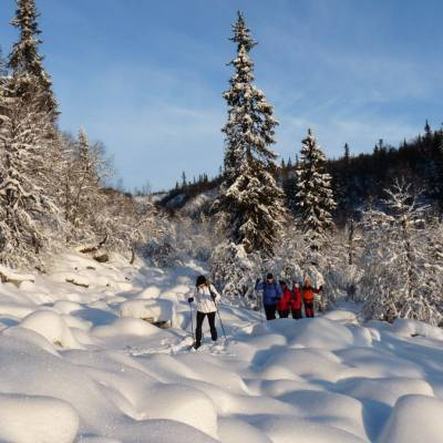 Snowshoeing  in Norway on cross country winter activity holiday (1 of 1)-6.jpg