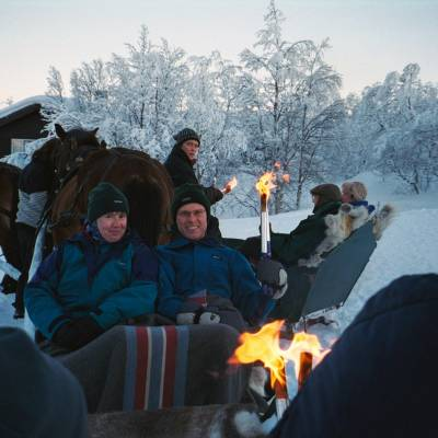 Horse sleigh rifde on cross country skiing holiday in Norway (1 of 1)-4.jpg