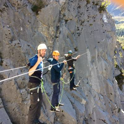 stag group doing the via ferrata with Undiscovered Mountains (5 of 7).jpg