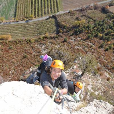 via ferrata in autumn in the undiscovered mountains in th Alps (13 of 27).jpg