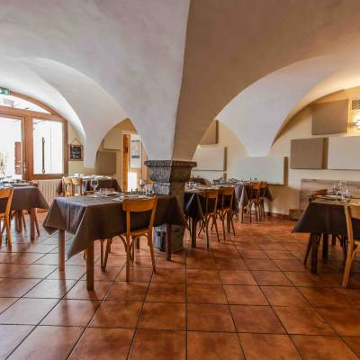 Auberge Vieux Chaillol Undiscovered Mountains Vaulted Dining Room.jpg