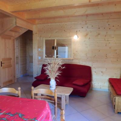 Chalet Valrouanne in Ancelle in the French Alps lounge