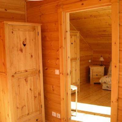 The Counit Chalet near Orcieres ski resort in the Alps hall
