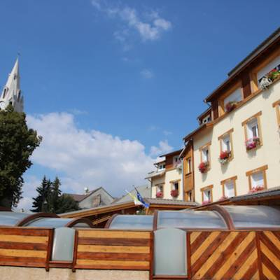 Hotel Les Autanes - Ancelle in summer