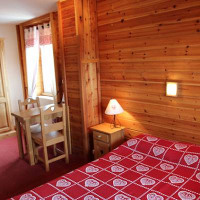 Hotel les Autanes in Ancelle in the French Alps family room for four
