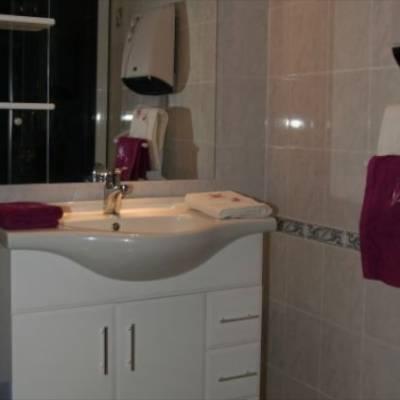 Cosy chalet in Jarjayes bathroom