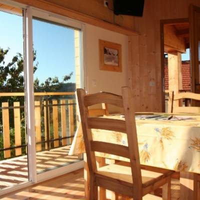 Cosy Chalet in Jarjayes terrace and view