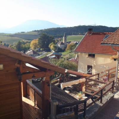 Cosy Chalet in Jarjayes view