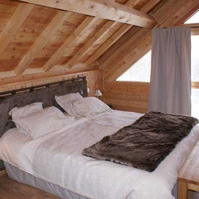 Picchuwasi luxury alpine chalet in Chaillol in the southern Alps - dou
