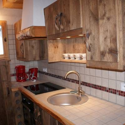 Picchuwasi luxury alpine chalet in Chaillol in the southern Alps - kit