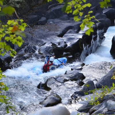 Kayaking in the Southern french Alps la bonne