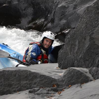 Kayaking in the French Alps on La bonne