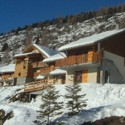 Chalets du tourond in Chaillol in the french Alps building
