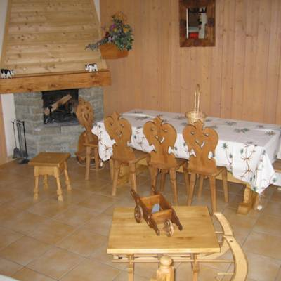 Chalets Tourond in Chaillol in french Alps