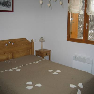 Chalet du tourond in Chaillol in the French Alps double room