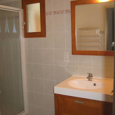 Chalet du tourond bathroom