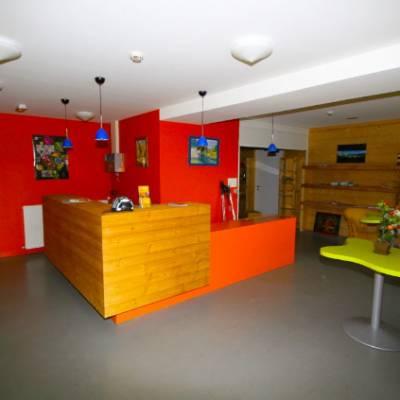 Auberge des Ecrins reception