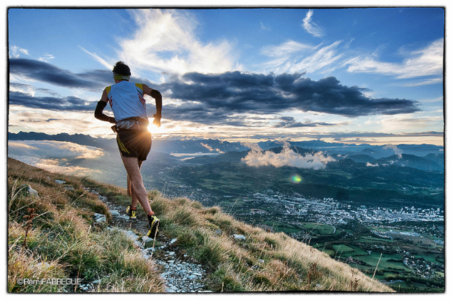 Trail Running Race in Gap in the Southern French Alps