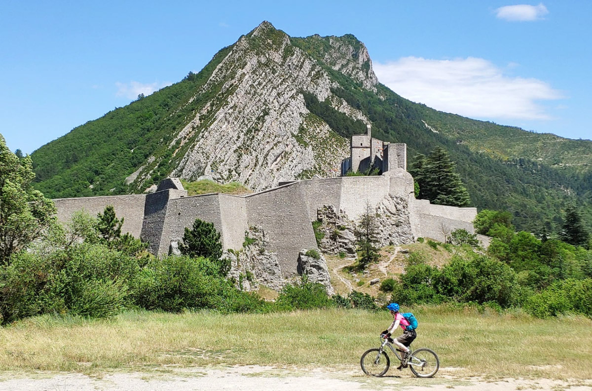 Keith and Kirsty - Alps to Provence Mountain Biking Tour